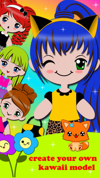 Dress Up Fashion Makeover Beauty Salon Makeup Artist Star Model Girl Games for Free in Kawaii Style - free educational learning games for kids and preschool toddlers fifa games free