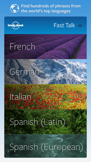 Lonely Planet Fast Talk Phrasebook - With Spanish, Italian, French, German, and Latin American Spanish spanish american war