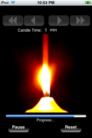 Candle Timer candle