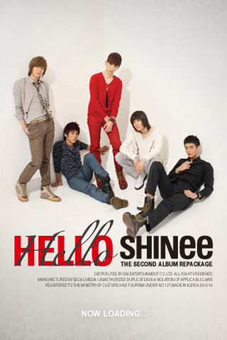 SHINee / Hello App for iPad - iPhone - Music Shinee Ring Ding Dong Album Cover