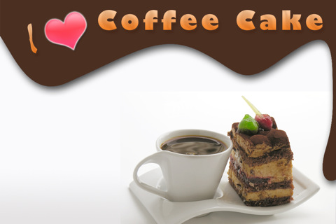 I ♥ Coffee Cake coffee cake
