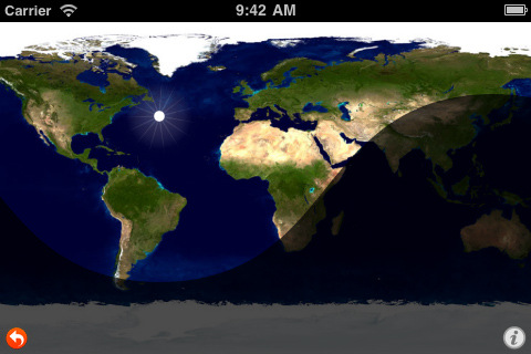 Daylight Map App for iPad iPhone Reference