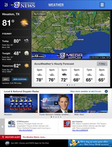 Abc13 houston app for ipad iphone news app by abc