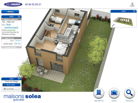 Maison sol a app for ipad iphone business for Application ipad construction maison