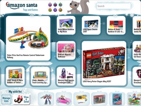 Amazon Santa