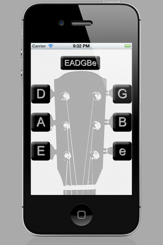 guitar tuner app for ipad iphone utilities. Black Bedroom Furniture Sets. Home Design Ideas