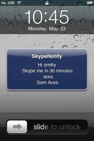 Skype Notify