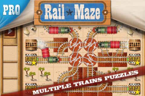 Rail Maze Pro