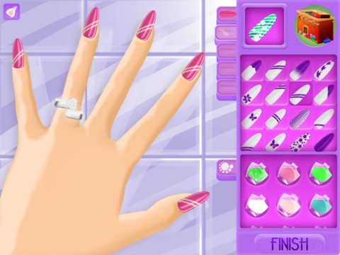 My Nail Salon App For Ipad Iphone Games