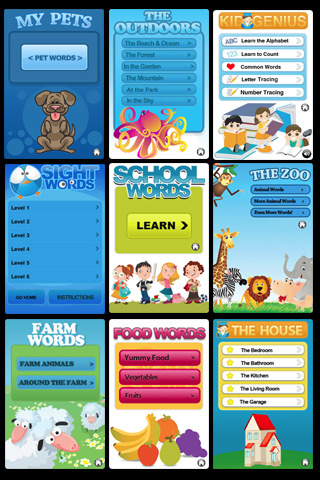 Kid Apps: 13 in 1