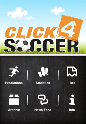 Click 4 Soccer - predictions and stats soccer predictions