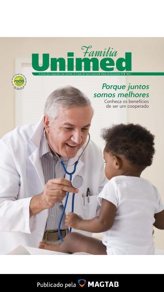 Revista Família Unimed santa catarina