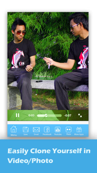 Split Lens 2 Photo Editor-Clone Yourself in Video&Photo, Make illusion Videos&Photos, +Filters&FX!