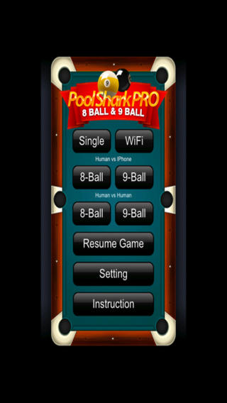 Pool Shark Pro 8 Ball & 9 Ball