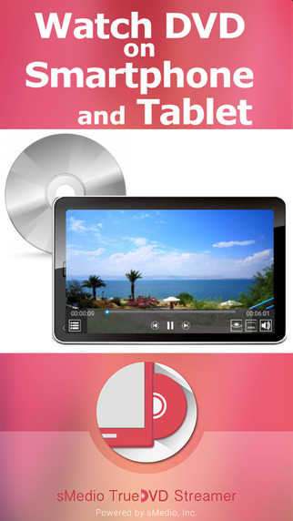 TrueDVD Streamer - Watch DVD on your smartphone and tablet! smartphone watch