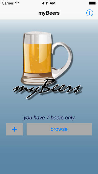myBeers - my collection of beers book cataloging app