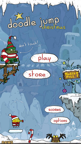 Doodle Jump Christmas Special Free doodle jump apk
