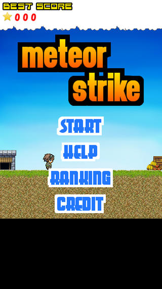 Meteor Strike -Avoidance action game that you play with simple operation- operation game