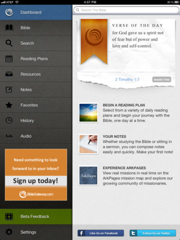 bible gateway app for ipad iphone reference