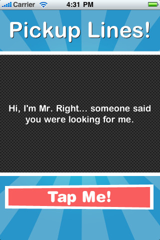 Pick  Up  Lines! App for iPad  iPhone  Entertainment