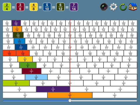 This section contains a camera tool for students to take a screen shot ...