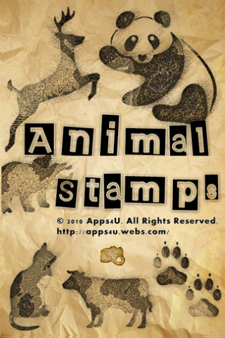 Animal Stamps personal stamps