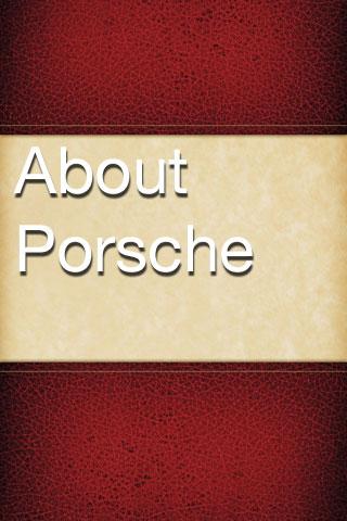 About Porsche porsche cayenne