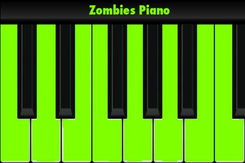 Zombies Piano kids pianos