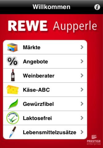 Rewe coupons app