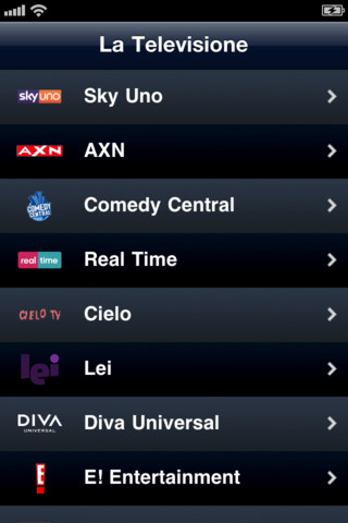 La Tele Italia 1.0 App for iPad, iPhone - Utilities - app by Pamgoo
