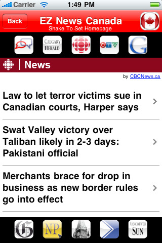 EZ News Canada canada news