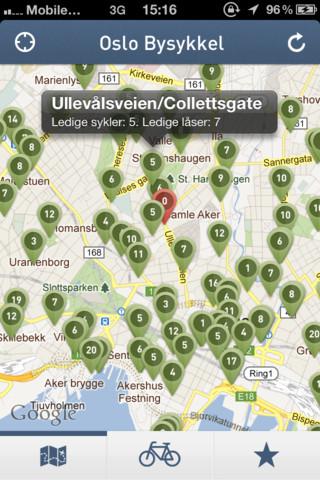 oslo bysykkel kart 20 Best Oslo Apps iOS iPad iPhone | Pyroso oslo bysykkel kart