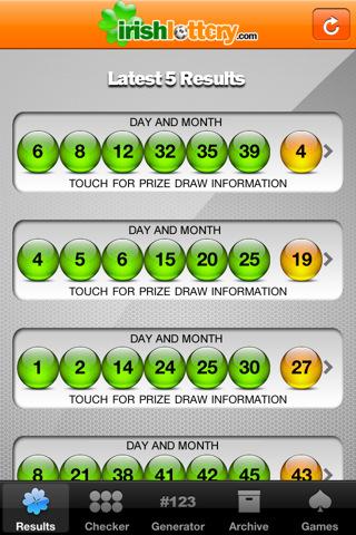 Irish Lottery App For Iphone
