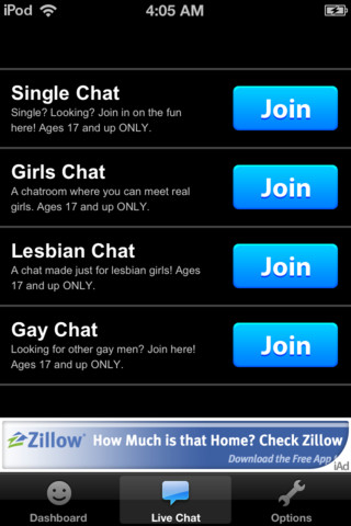 free text chat app for ipad iphone social networking. Black Bedroom Furniture Sets. Home Design Ideas
