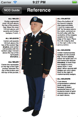 Army Service Uniform Enlisted Guide Pictures To Pin On