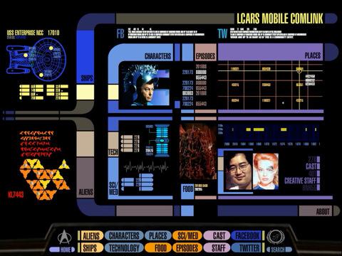 Star Trek PADD