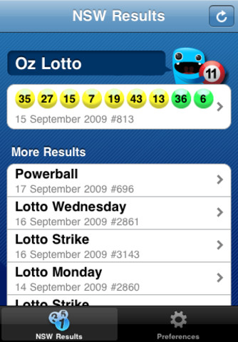 Lotto Results 1.1.1