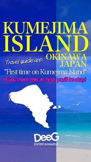 Kumejima Island okinawa island map