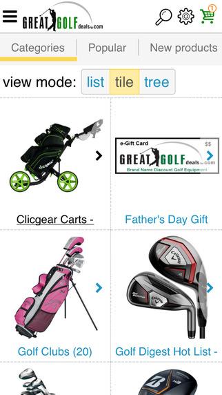 Great Golf Deals.com golf equipment deals