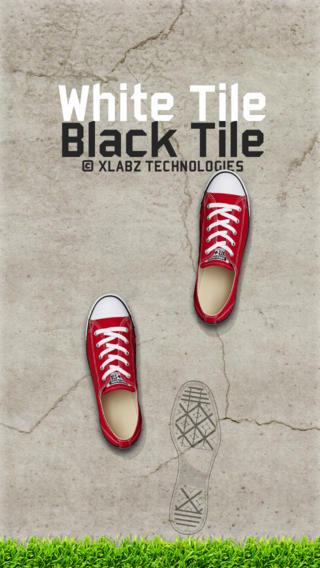 White Tile Black Tile - Don`t Step On The White Tile Free Game artwork on tile