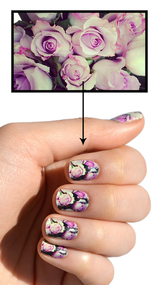 myNCLA - Your Custom Nail Wraps home designing