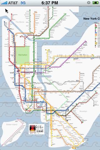 NY SUBWAY MAP