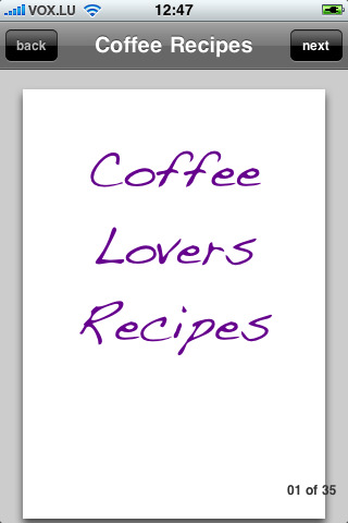 Coffee Recipes coffee lovers