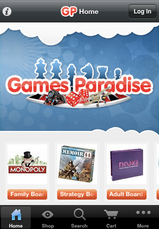 Games Paradise the games