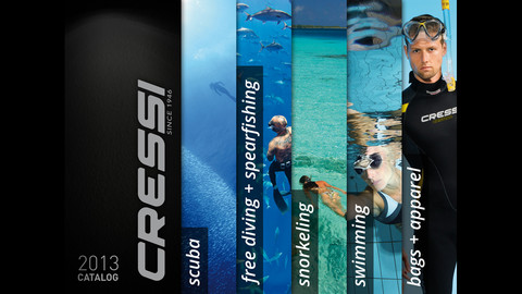 Cressi Catalog diving equipment