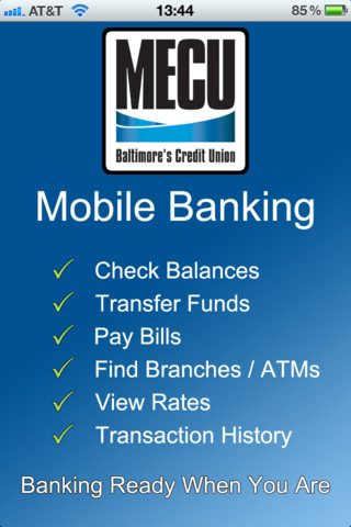 The Municipal Employees Mecu Of Baltimore Offers Many Different Banking Services Including Deposit Accounts Auto Loans Mortgages Investment