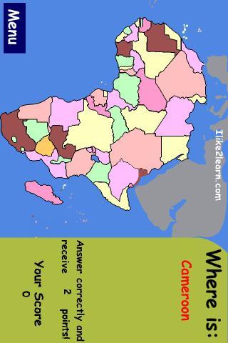 Africa Map Game africa map quiz