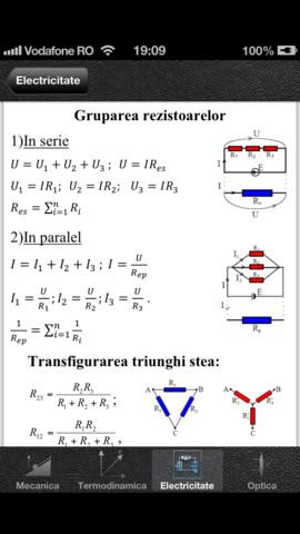 formule fizica mecanica