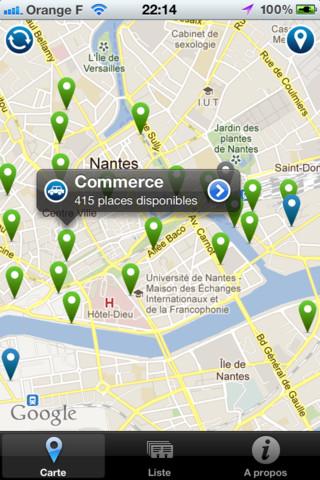 Parking Nantes the edict of nantes