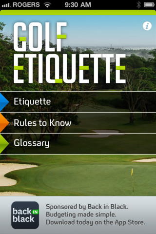 Golf Etiquette etiquette for kids